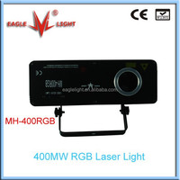 stage light 400MW RGB out door stage lighting laser light from eaglelight