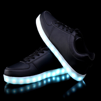 Size 35-46 8 Colorful led luminous shoes Men Women Fashion Casual Lighted Glowing Light up shoes light For Adults/men hombre