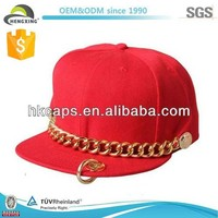 2013 new design Hip Hop trucker Fashion Cap and hats with chain