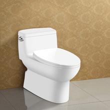 Floor Mounted One-piece Single Flush Ceramic Toilet