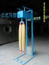 Tubos de caucho de la máquina para los pantalones vaqueros raspado