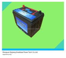 Cheap High quality JIS vehicle dry cell battery mf global car battery 55D26L-12V60AH 80d26l mf car battery