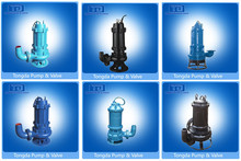 Cast Iron Centrifugal Electric High Flow Low Pressure Slurry Submersible Pump
