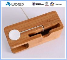 High level wooden cell phone holder with high quality