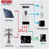 24v 48v 1KW 2KW 3KW 5KW home solar system the small solar panel kit