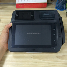 M680 EMV PCI Tablet All in one Touch Screen POS Machine Price with printer for Touch Restaurant POS system