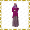 MF21491 long sleeve wrap maxi dress islamic wholesale abaya boho maxi dress
