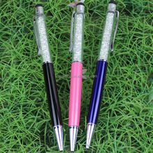 Hot fashion crystal ballpoint pen good for promotion and office