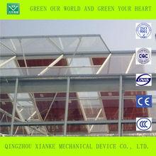 Solar Energy Panel Greenhouse for vegetable