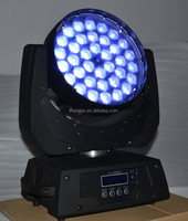 36*10w 4 in 1 quad led moving head zoom/led stage light