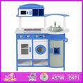 2015ใหม่สไตล์ไม้ห้องครัวของเล่นสำหรับเด็ก, ใหม่ล่าสุดที่ทันสมัยไม้ห้องครัวของเล่นสำหรับเด็ก, แกล้งเล่นห้องครัวสำหรับเด็กw10c076a