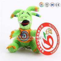 Dragon mascot stuffed animals with big eyes