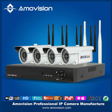 4CH 720P P2P WiFi IP Camera and Network Surveillance NVR Kit 4ch nvr kit