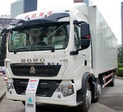 Howo T5G Motor Van 310HP 8 wheels Diesel Type
