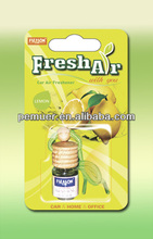 Liquid type wooden bottle air freshener with natural oil fragrance