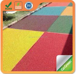 Asphalt pigment iron oxide pigment used for colored asphalt