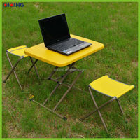 Multifuctional tablet pe table & laptop table & outdoor table, cute design super strong HQ-1052-21