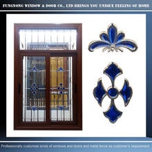 Design and manufacturing secured window with decorative wrought iron window grill
