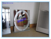 Frameless custom mall mirror, department store mirrors, cosmetics dollar store mirror with reliable delivery