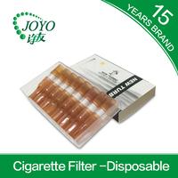 zhejiang plastic cigarette filter tips for 8pcs cigarettes