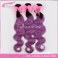 Special Price No Tangle Virgin 7A Grade 100% unprocessed outre weave hair