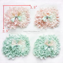 Chiffon ice cream and chiffon rosette flowers for DIY Baby Accessories wholesale