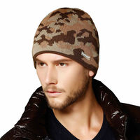 HOT Selling Men's Wool Beanie, Knitted Beanie Hat fashion cap