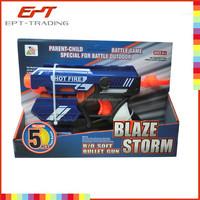 Hot selling plastic toy gun safe air soft bullet toy gun for kids