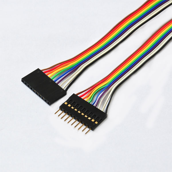 Ribbon Cables Cable Assembly : Mm pitch pin female to idc