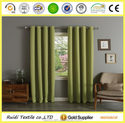 Home Decorative Top Thermal Window Curtain, Grommet Curtain , Blackout Curtain