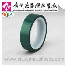 powder coating masking green polyester tape
