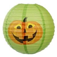 Pumpkin nylon lampion/Party halloween paper lantern/Halloween ghost paper lamp wholesale