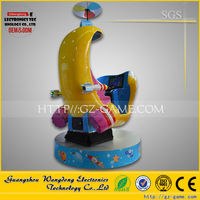 2015 Special style WDYB-013 china amusement rides Future fighters kiddie ride machine game lcd theme park kiddie rides for sale