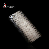 Luxury real snake fur leather cell phone case animals for iphone5s