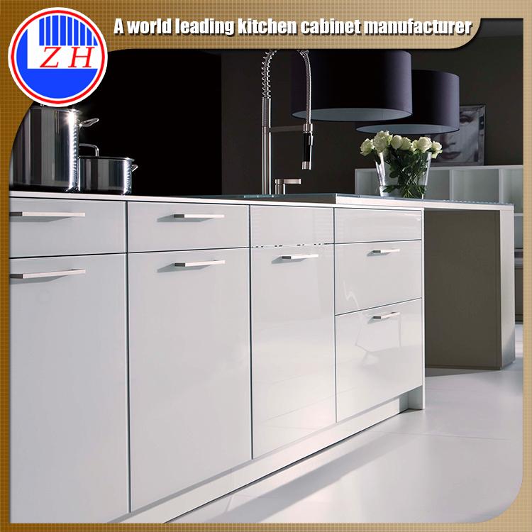 Australia Apartment Gloss White Finish Mini Small Kitchen