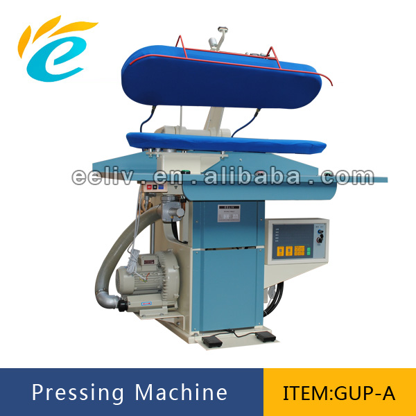 cloth iron press machine