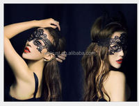 Masquerade Black Lace Party Eye Mask
