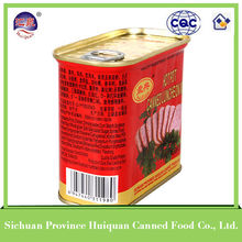 China Wholesale Custom canned spiced pork cubes oem food