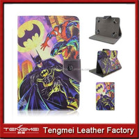 new film Cartoon pattern Folio Patterns Luxury pu Leather Smart Case Cover Stand for Apple iPad 5