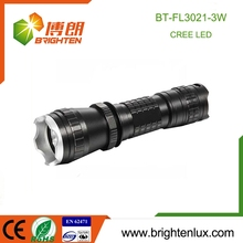 China Supply Portable Pocket Size mult-function Aluminum 3w 16340 Battery Emergency Tactical Cree XPE long distance torch