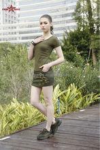 Freearmy new design womens mini skirt