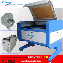 Science working models RECI 80W 100W 130W CO2 Wood/MDF/Acrylic Laser Cutting Machine with Lower Price 900*600mm