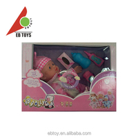 Colorful lovely 14-inch doll with IC PVS small baby dolls for children
