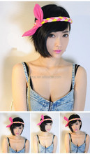 bowknot braided hair band headbands 27