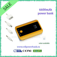 7800mAh Travel CE/RoHs ce rohs backup battery power bank for samsung galaxy s3
