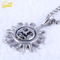 gold plated sun shape pendant jewelry wholesalers los angeles