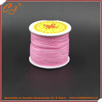 satin string polyester cord 1mm, china knot