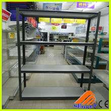 light duty boltless rivet structure collapsible tool storage rack concealed post shelving racking