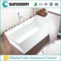 SUNZOOM soak bathtubs,luxury acrylic free standing soaking bathtub,bathtubs wholesale