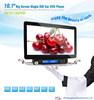 10.1inch big screen motorized single din car dvd player gps navigation